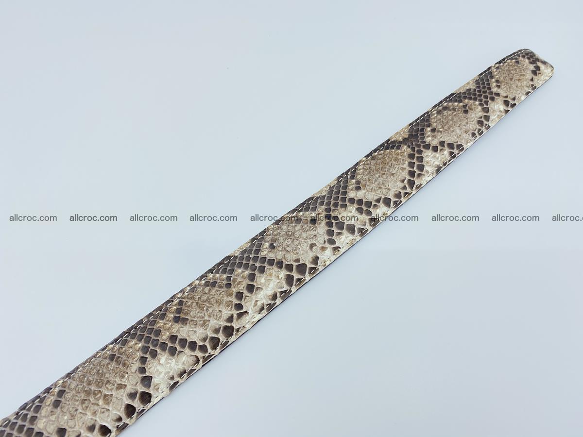 Python snake leather belt 704 Foto 10