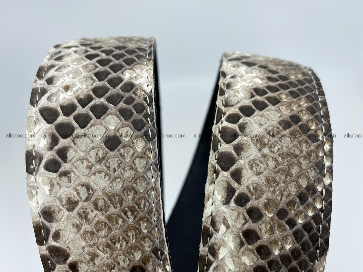 Python snake leather belt 704 Foto 9
