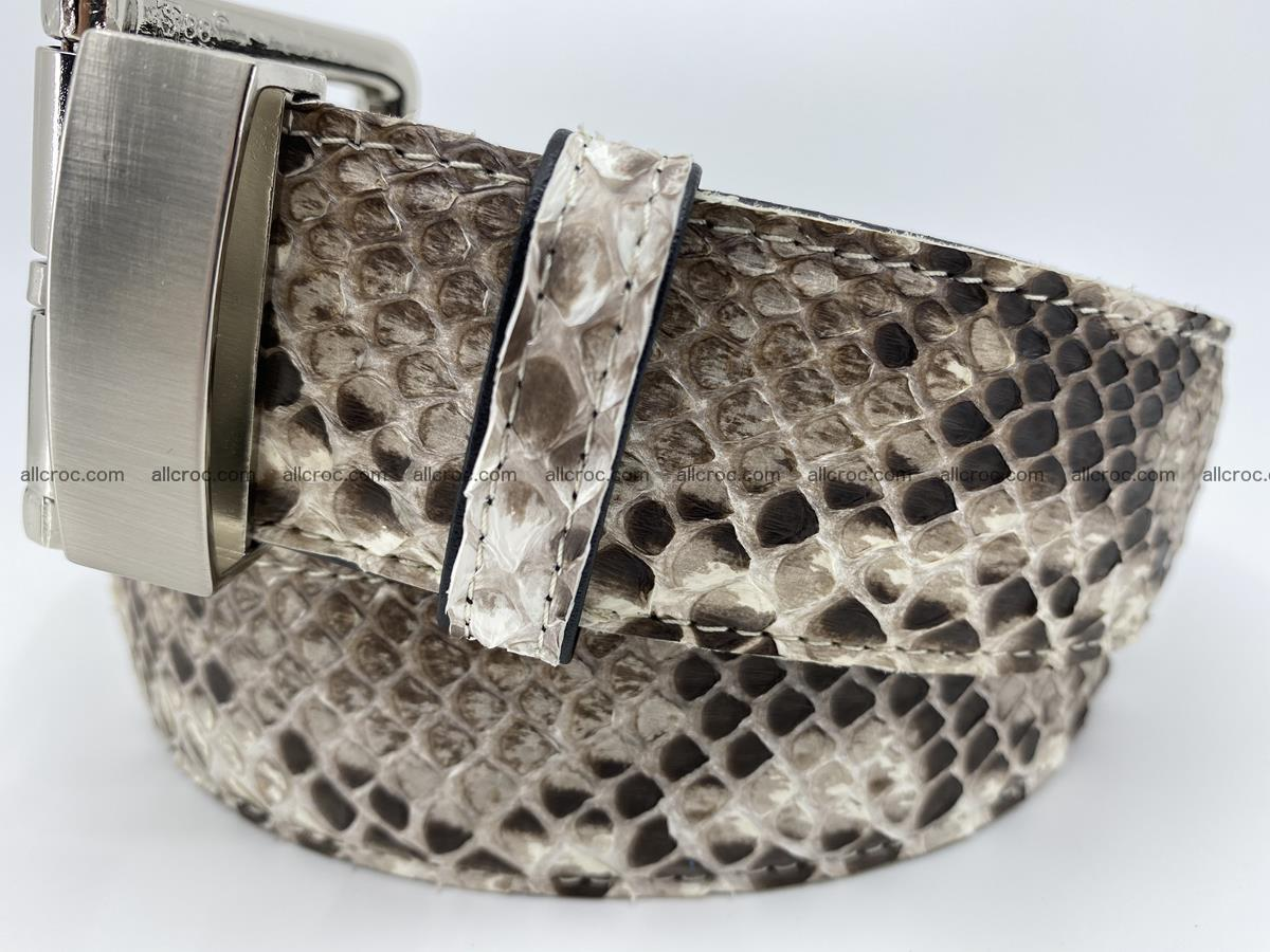 Python snake leather belt 704 Foto 1