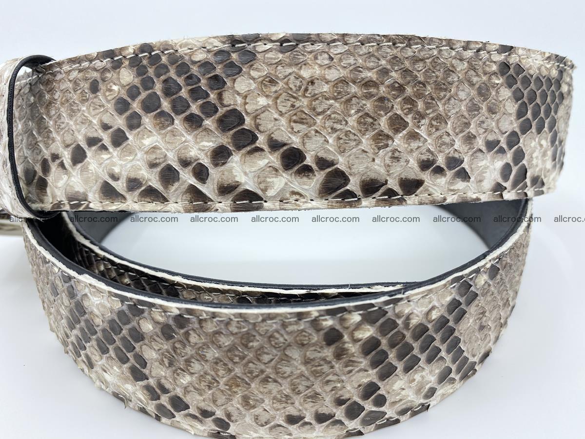 Python snake leather belt 704 Foto 2