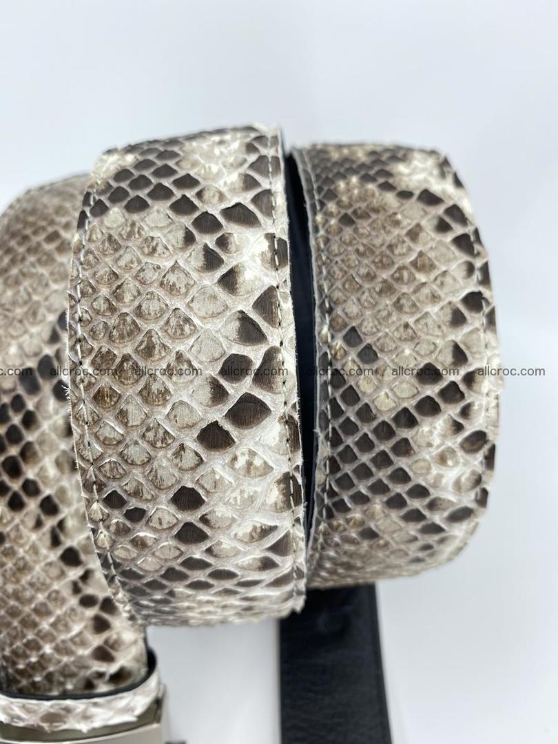 Python snake leather belt 704 Foto 5