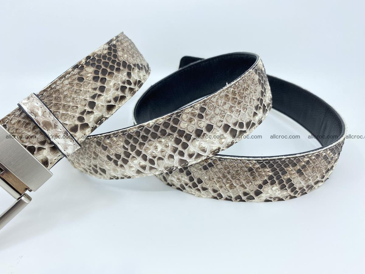 Python snake leather belt 704 Foto 7