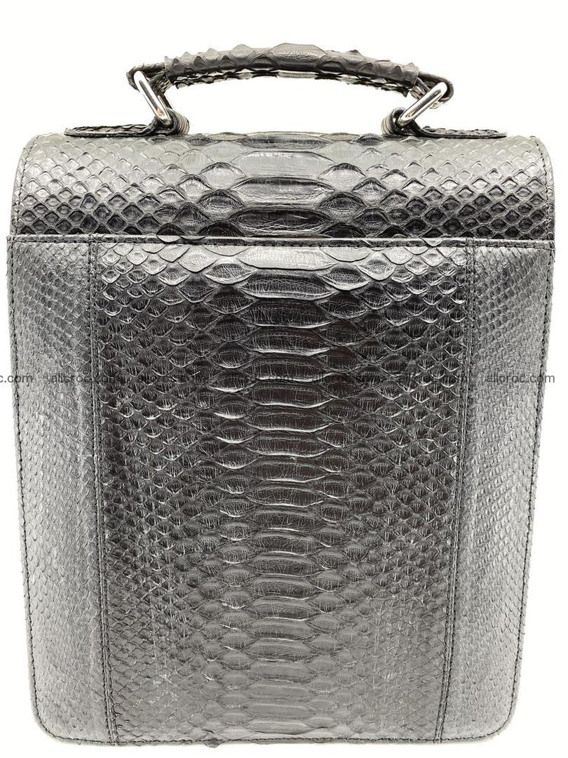 Python snake skin handbag 695 Foto 1