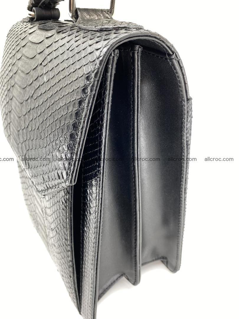 Python snake skin handbag 695 Foto 6