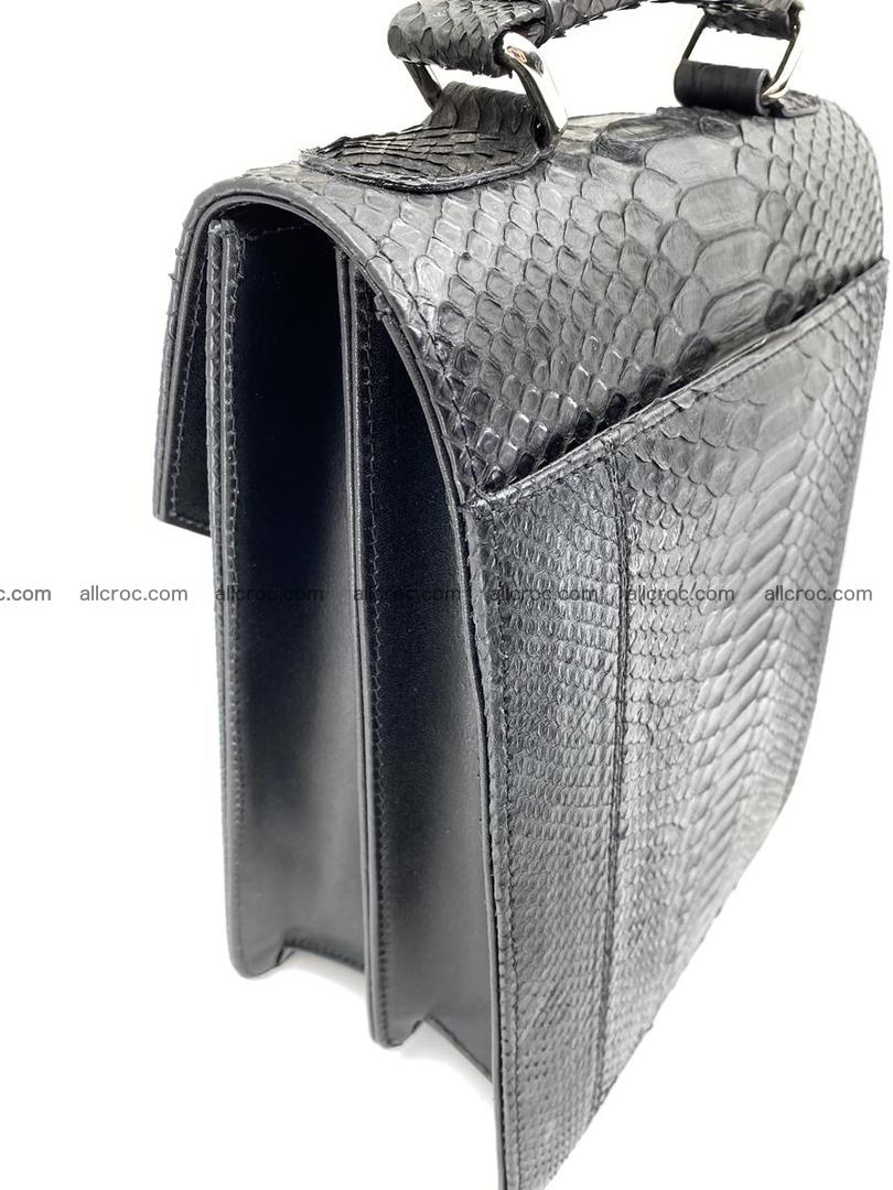 Python snake skin handbag 695 Foto 7