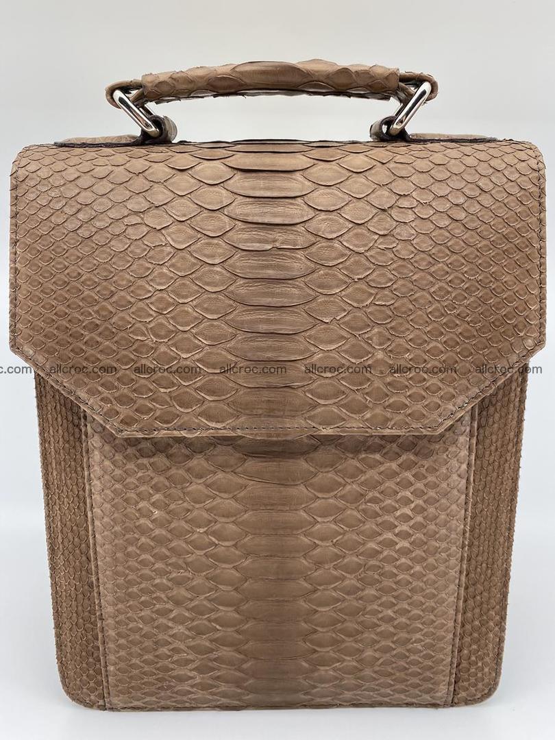 Python snake skin handbag 696 Foto 0