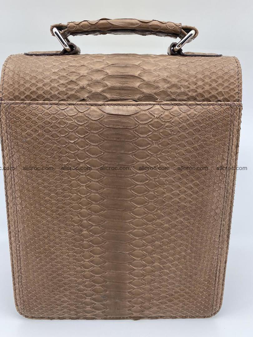 Python snake skin handbag 696 Foto 1