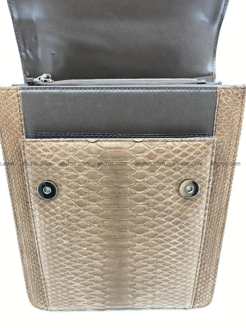 Python snake skin handbag 696 Foto 2