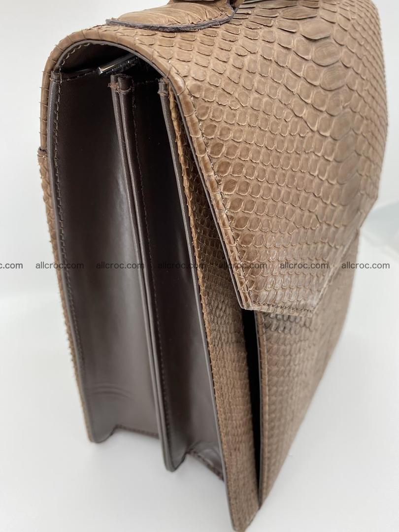 Python snake skin handbag 696 Foto 4