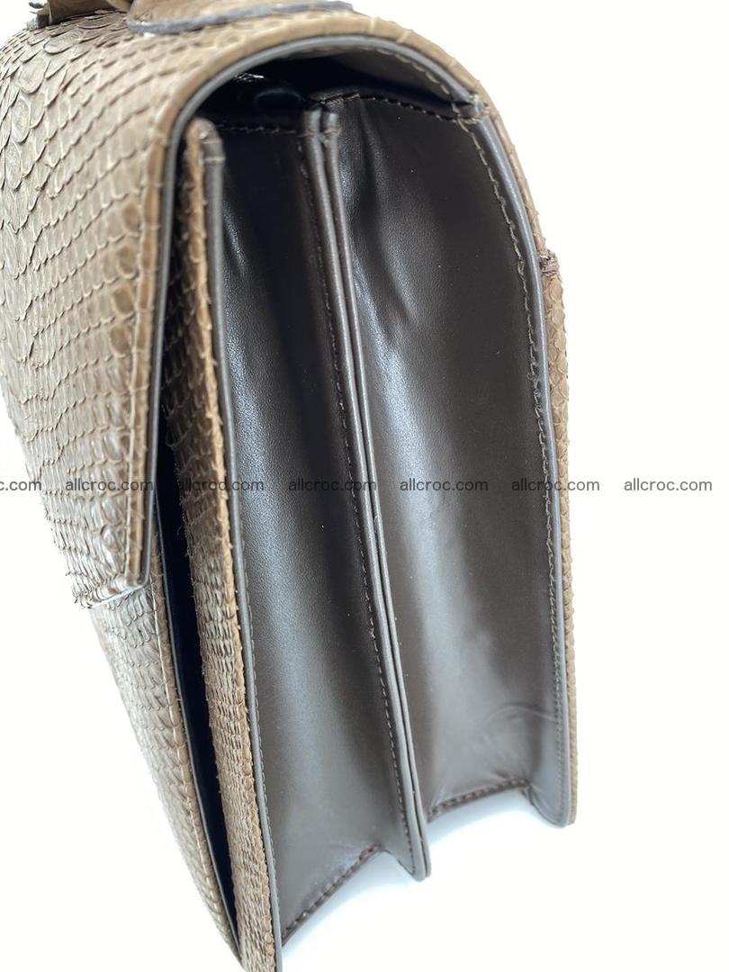 Python snake skin handbag 696 Foto 3