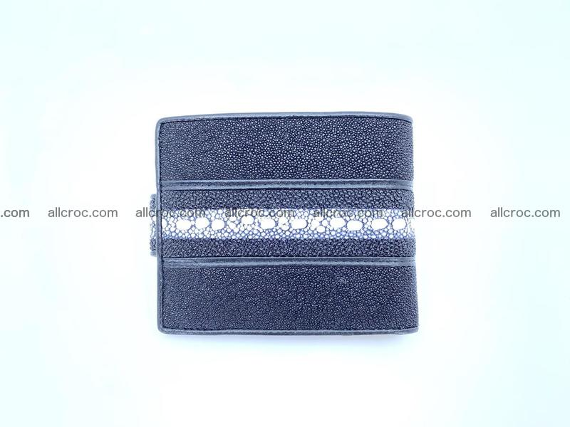 Row stone Stingray leather billfold small size 1114