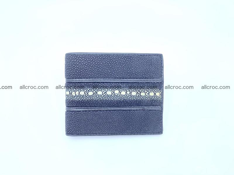Row stone stingray leather wallet 1084