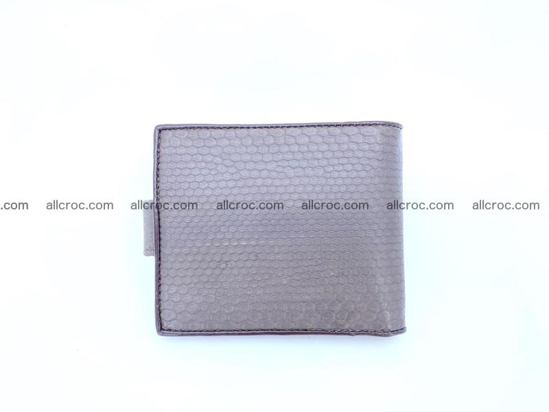 Sea snake skin billfold small 1091