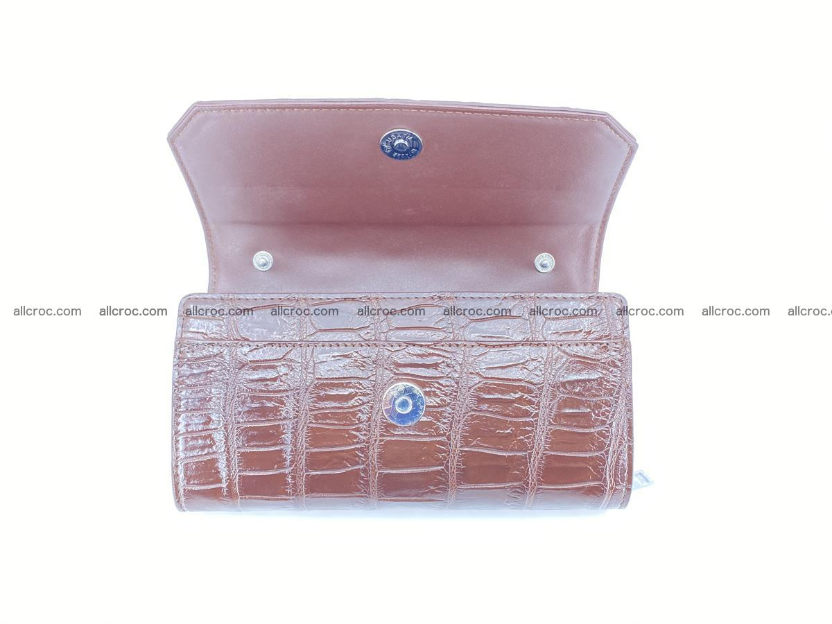 Crocodile leather clutch 672 Foto 2