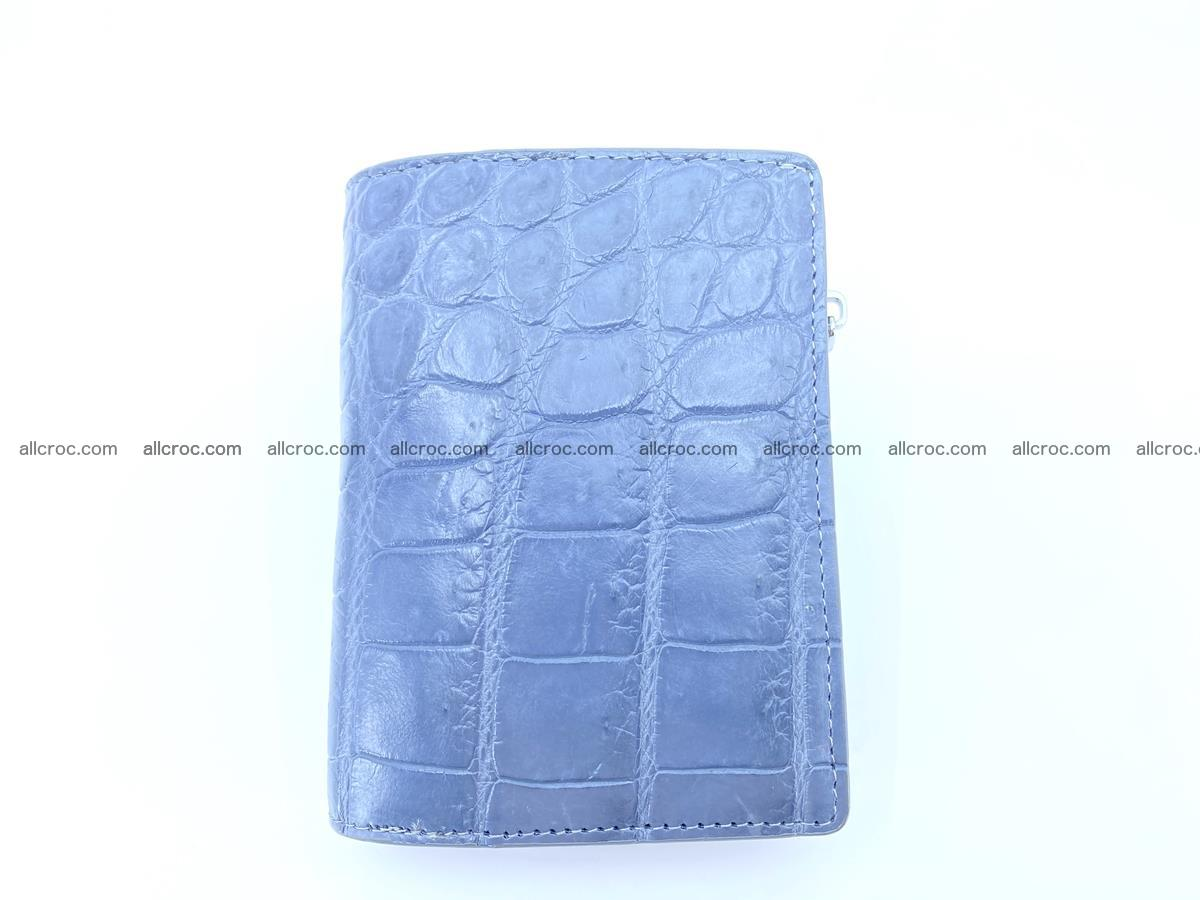 Crocodile leather vertical wallet HK 636 Foto 0