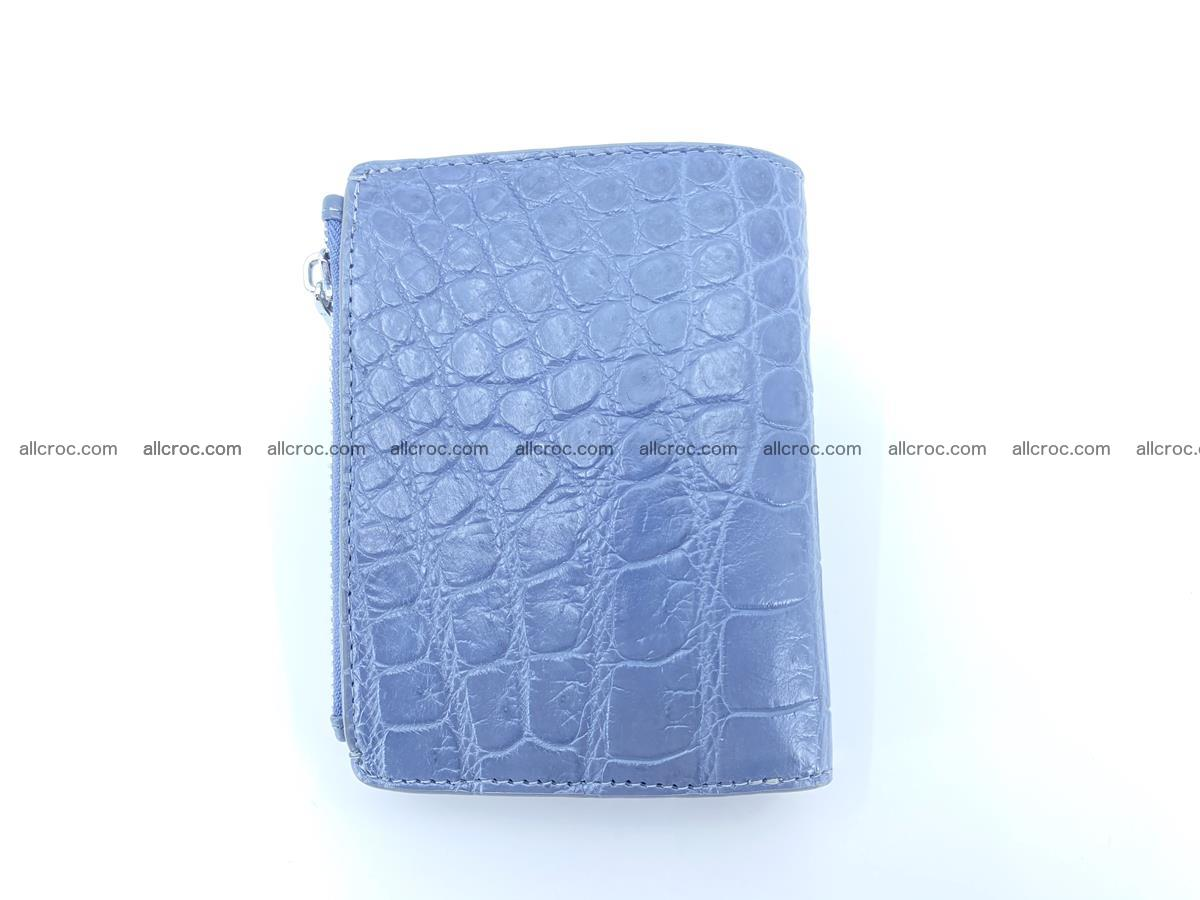 Crocodile leather vertical wallet HK 636 Foto 1