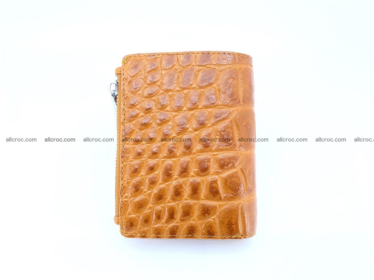 Crocodile leather vertical wallet HK 637 Foto 1
