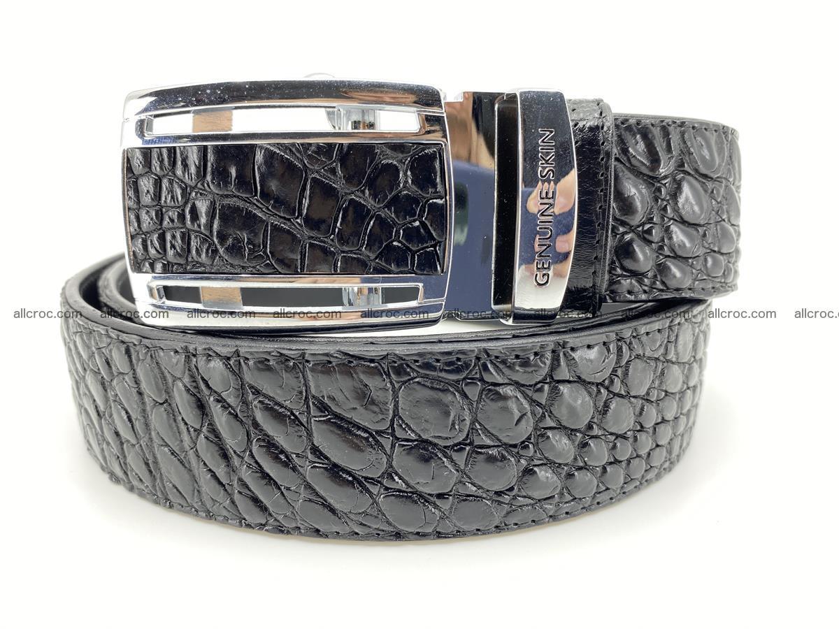 Crocodile leather belt 730 Foto 0