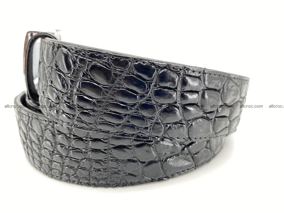 Crocodile leather belt 730 Foto 1