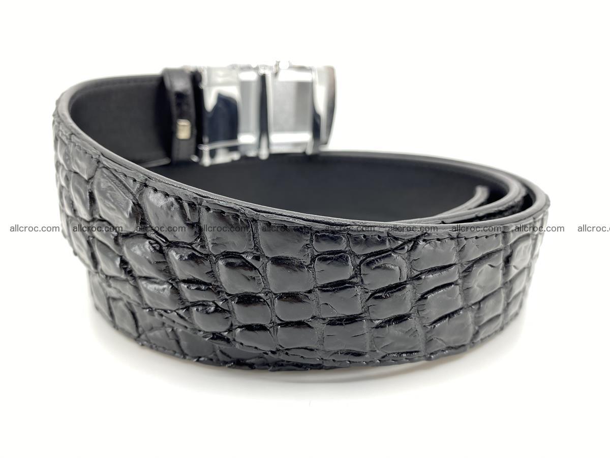 Crocodile leather belt 730 Foto 2