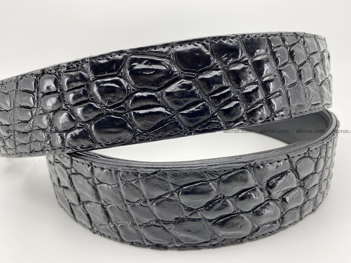 Crocodile leather belt 730 Foto 3