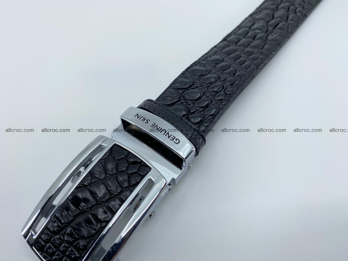 Crocodile leather belt 730 Foto 7