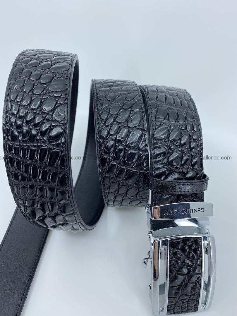 Crocodile leather belt 730 Foto 4