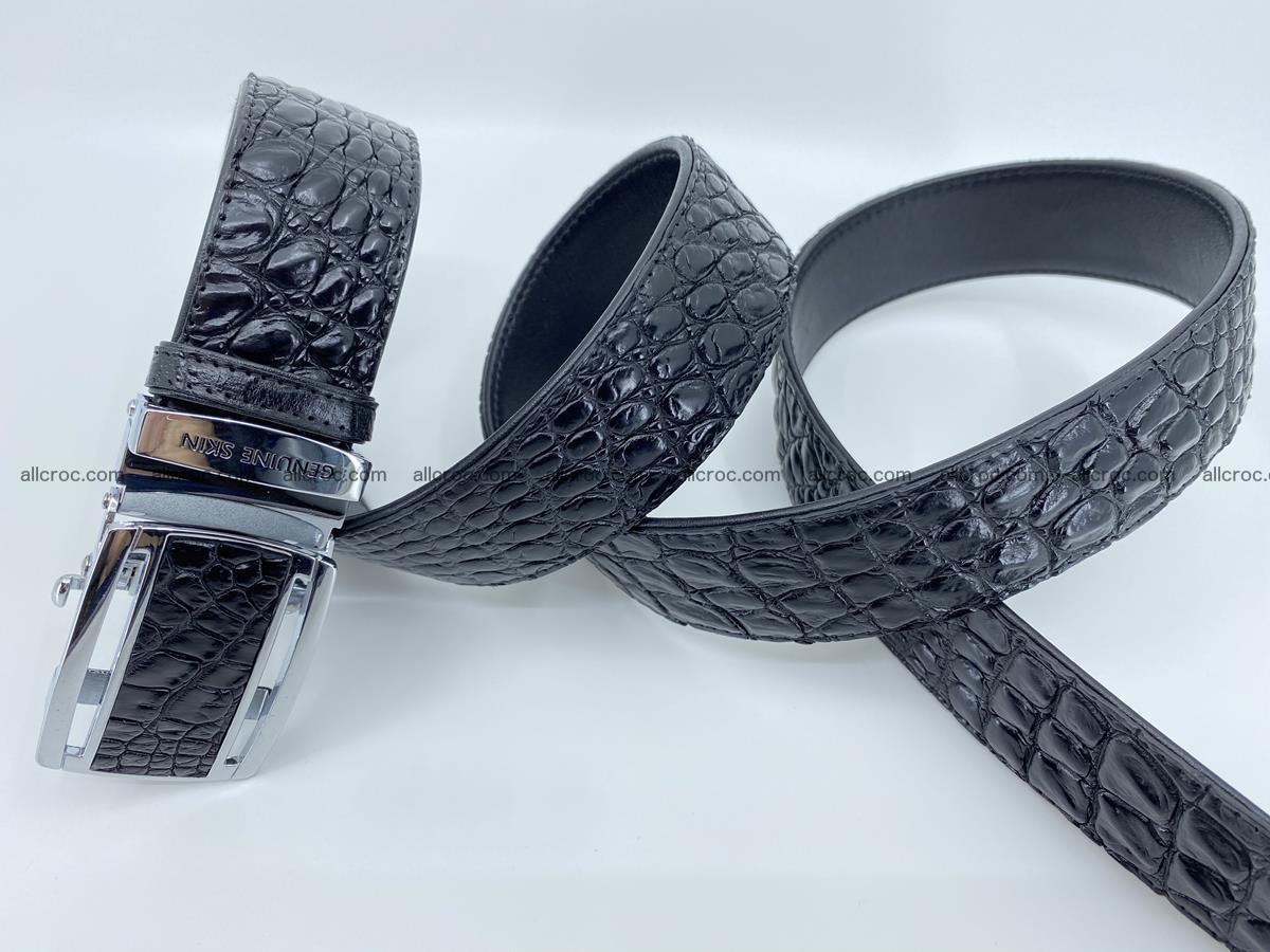 Crocodile leather belt 730 Foto 5