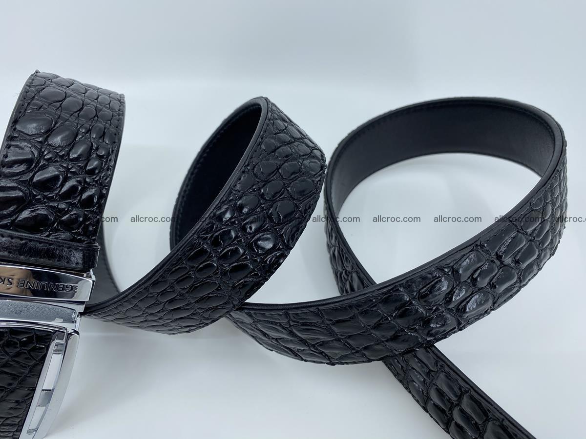 Crocodile leather belt 730 Foto 6
