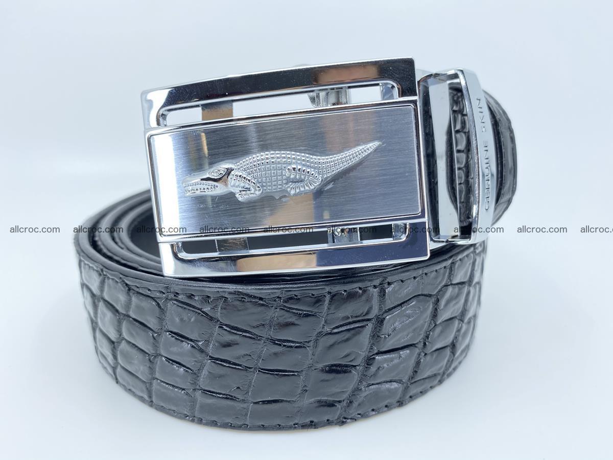 Crocodile leather belt 728 Foto 0