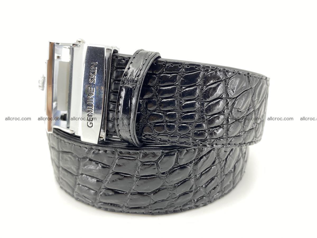 Crocodile leather belt 728 Foto 2