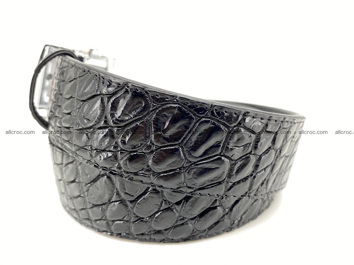 Crocodile leather belt 728 Foto 1