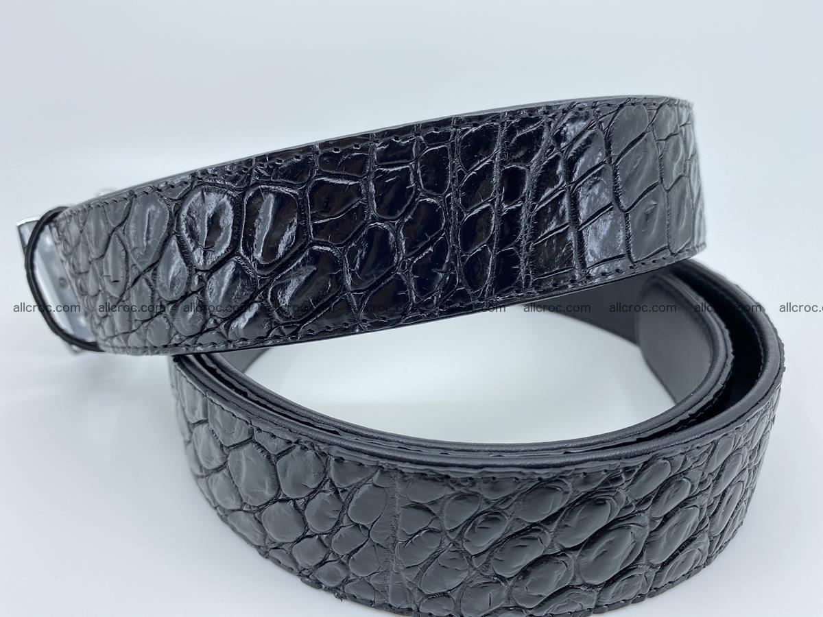 Crocodile leather belt 728 Foto 3