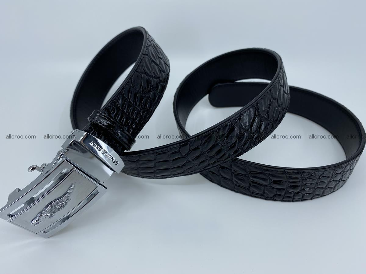 Crocodile leather belt 728 Foto 5