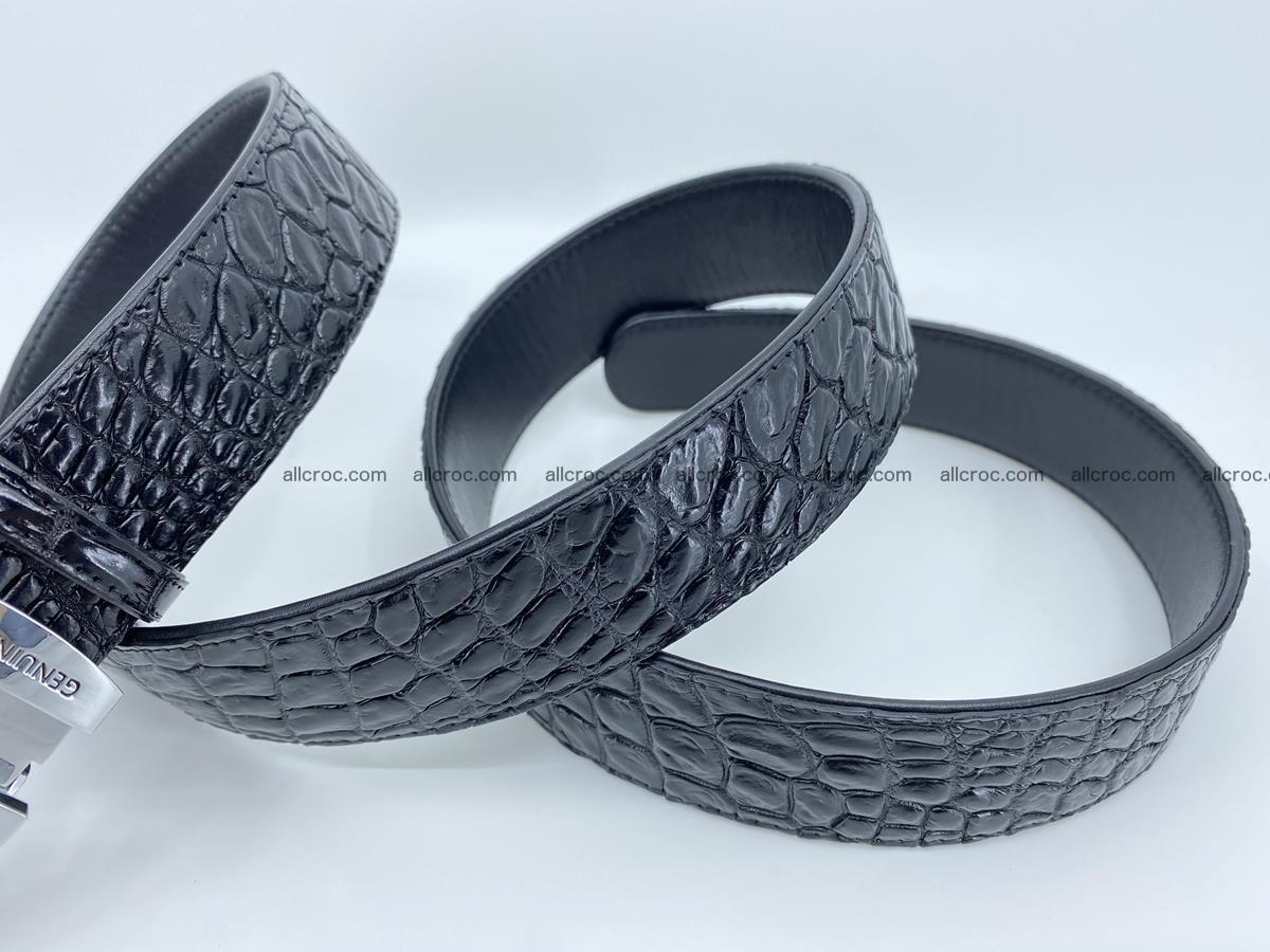 Crocodile leather belt 728 Foto 6
