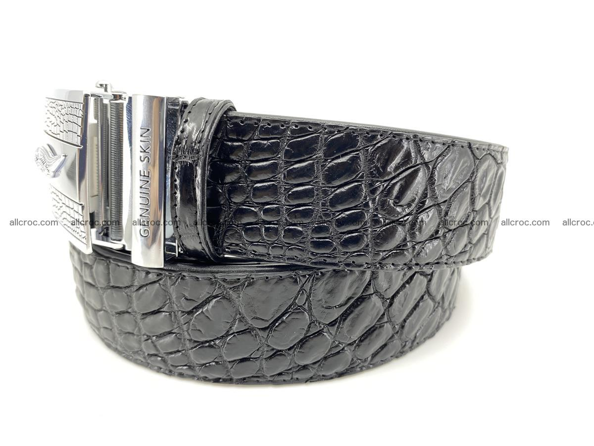 Crocodile leather belt 726 Foto 2