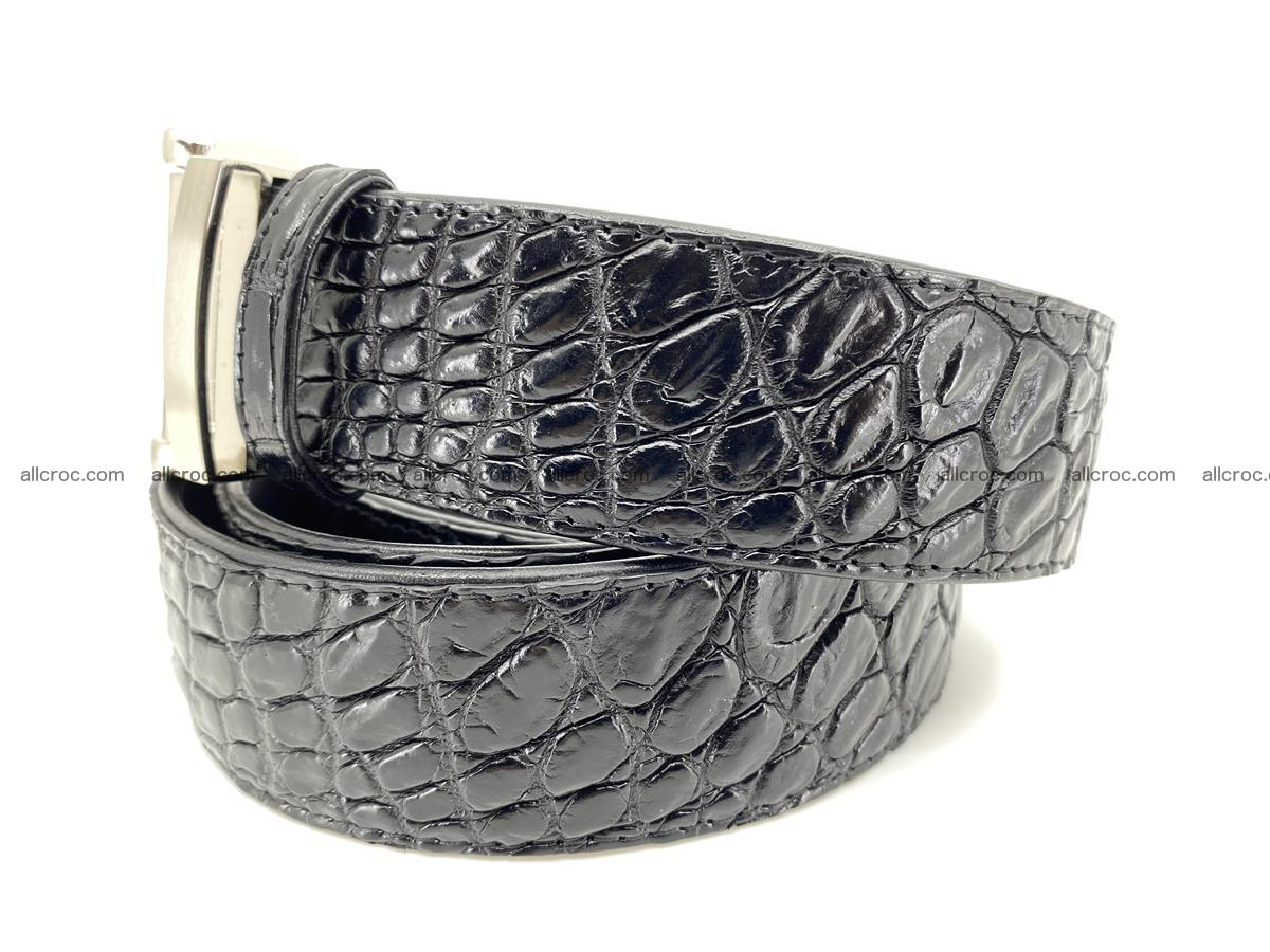 Crocodile leather belt 732 Foto 1