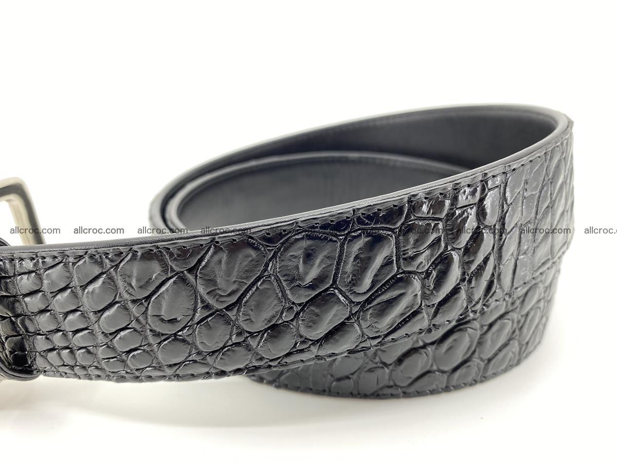 Crocodile leather belt 732 Foto 2
