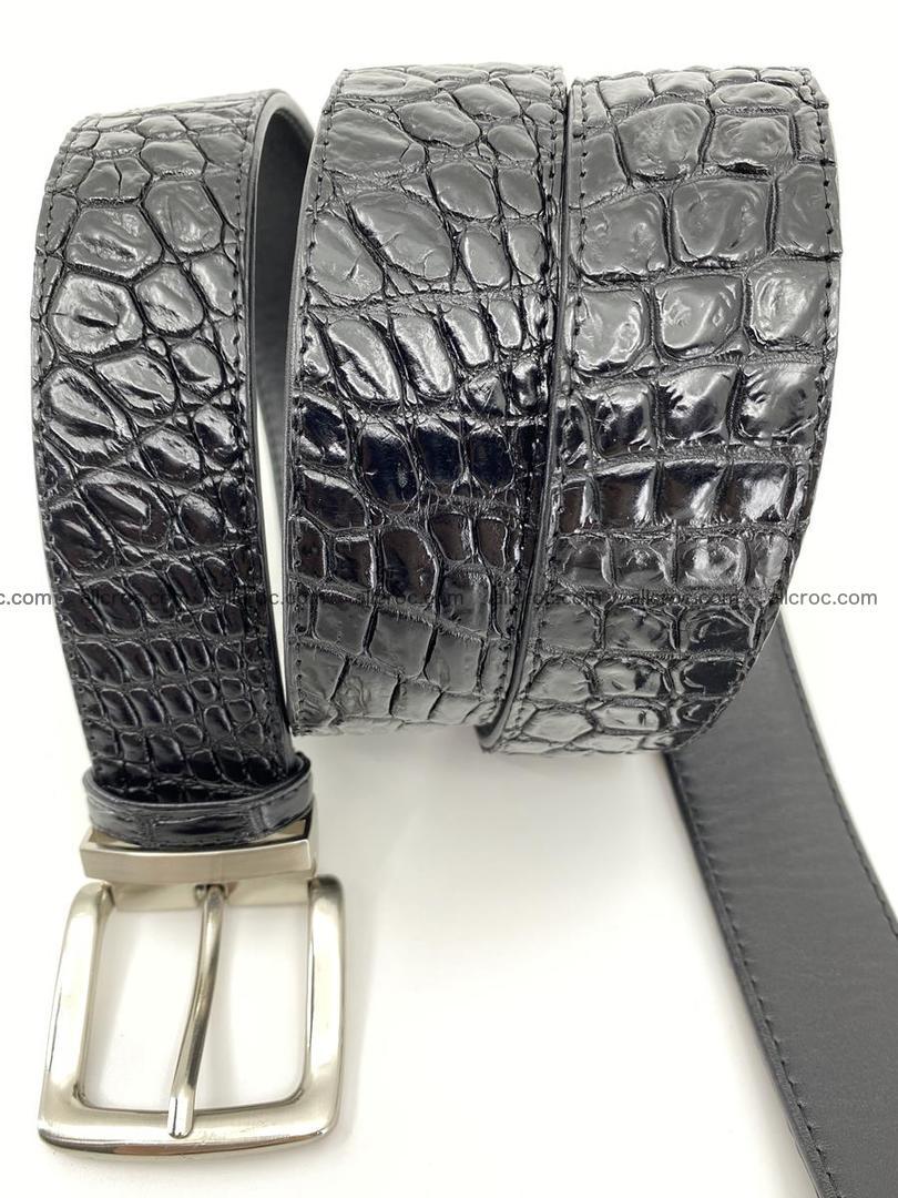 Crocodile leather belt 732 Foto 3