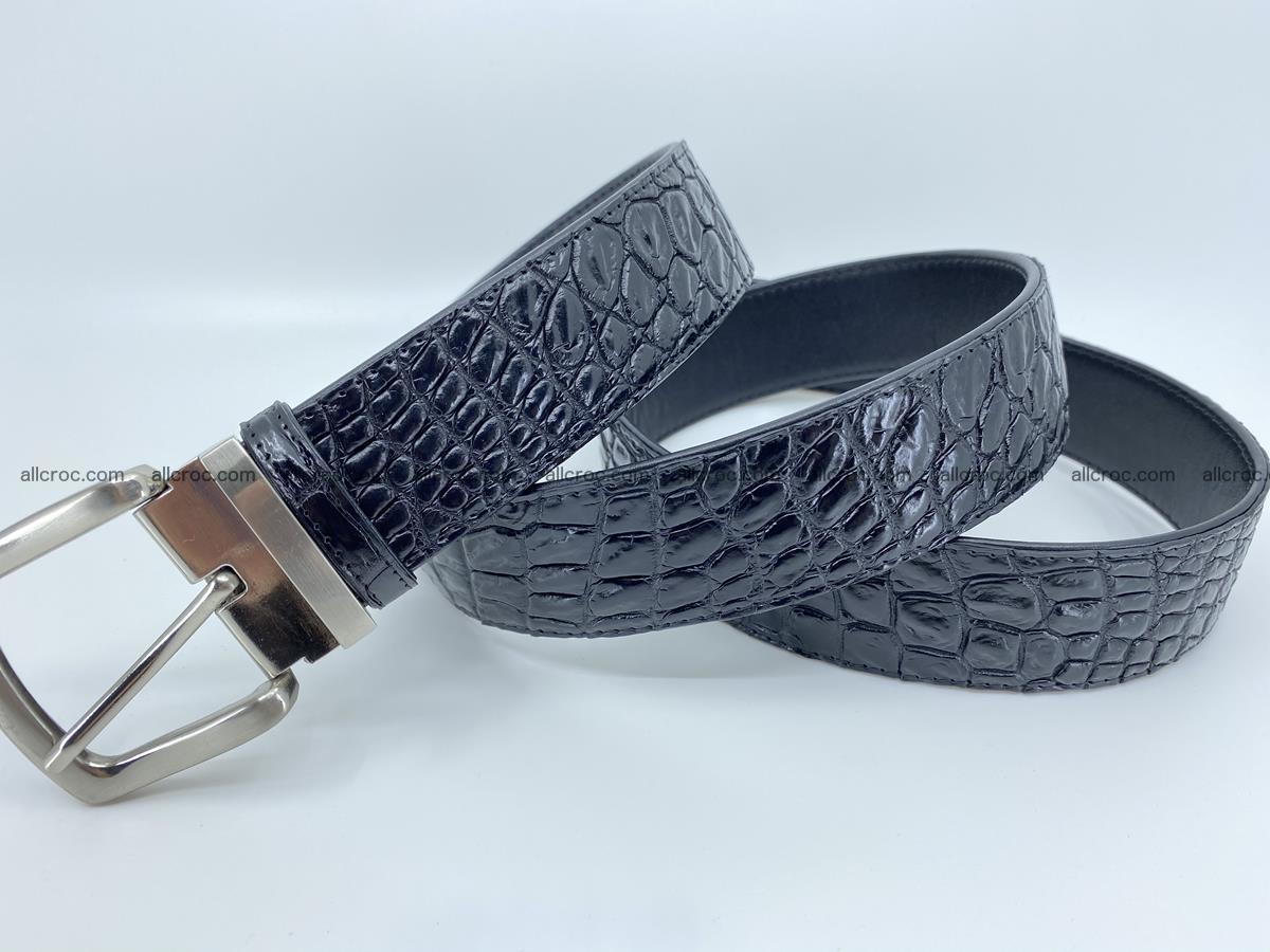 Crocodile leather belt 732 Foto 4