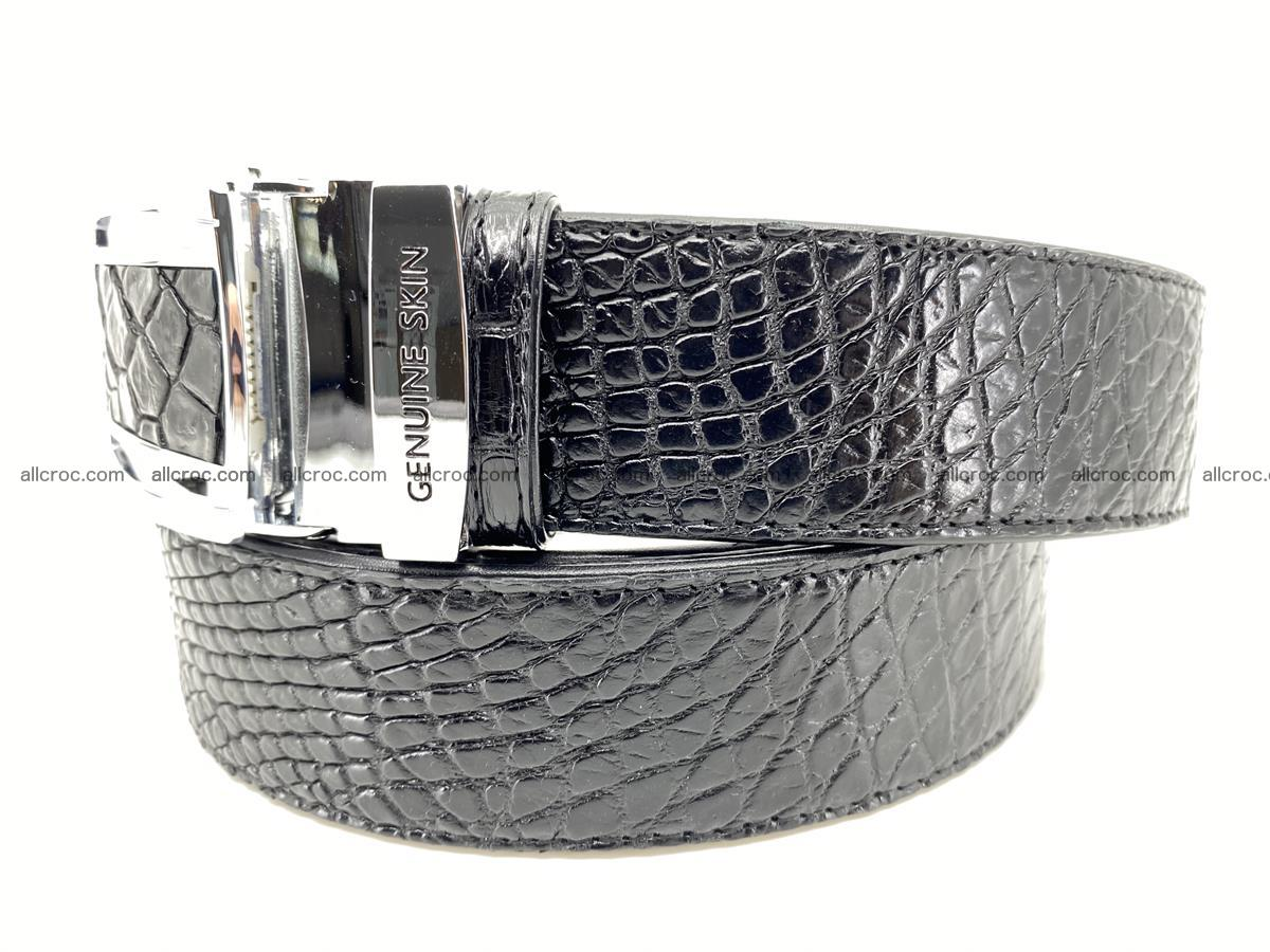Crocodile leather belt 734 Foto 1