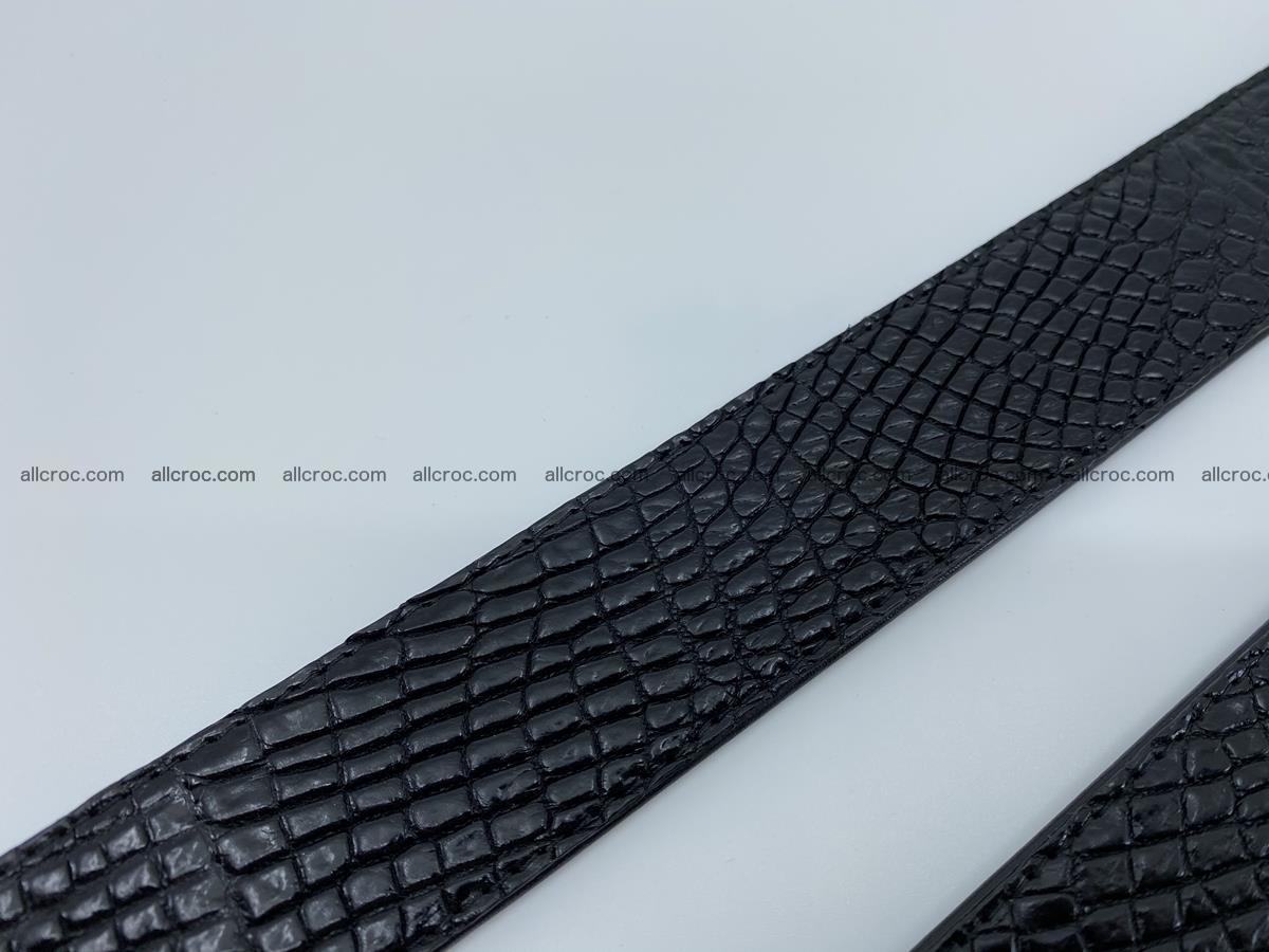 Crocodile leather belt 738 Foto 14