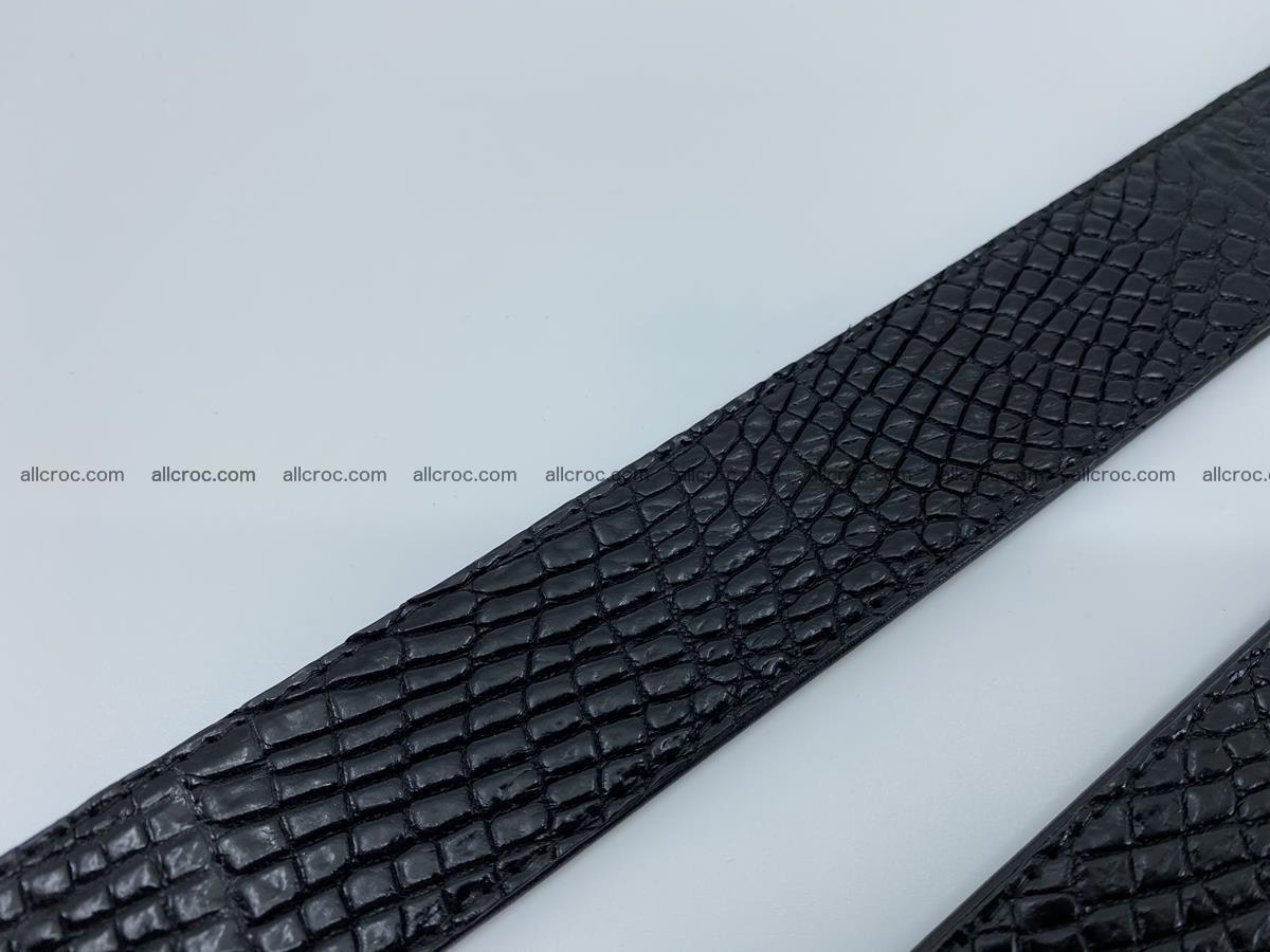 Crocodile leather belt 740 Foto 13