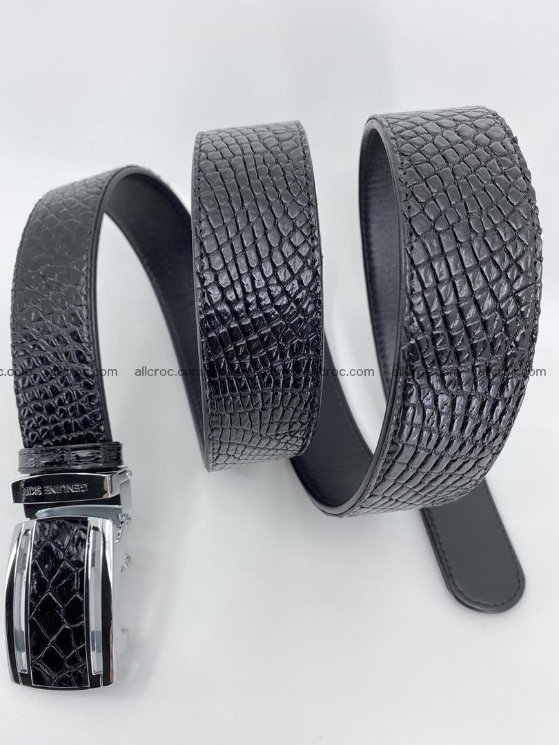 Crocodile leather belt 734 Foto 4