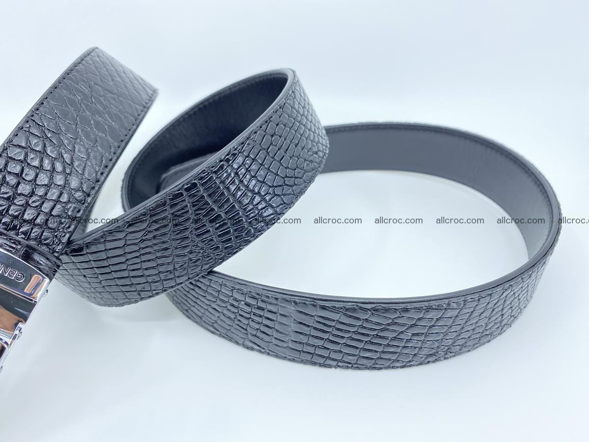 Crocodile leather belt 734 Foto 6