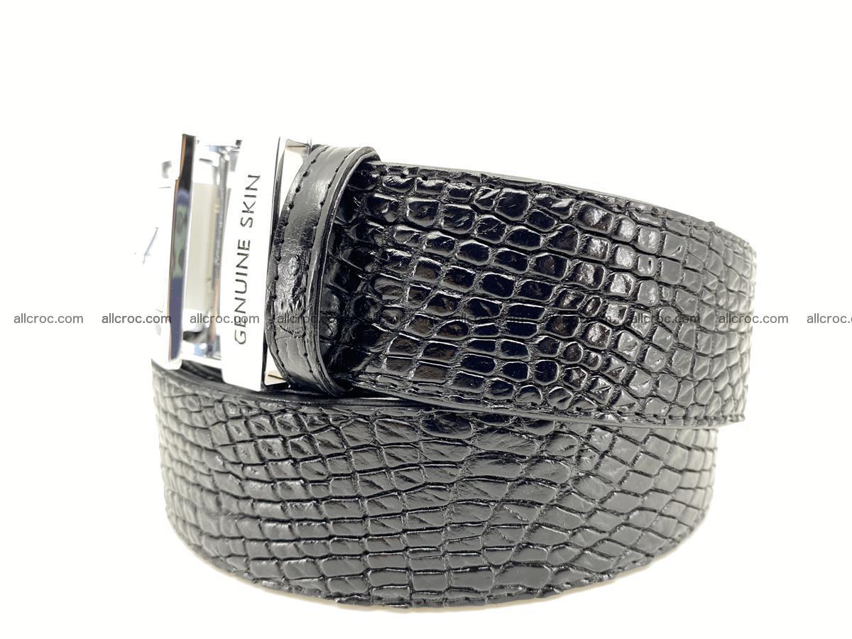 Crocodile leather belt 736 Foto 1