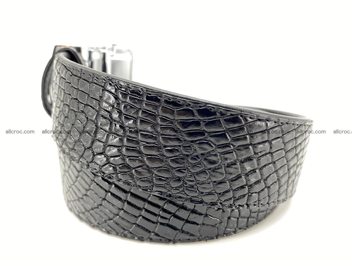 Crocodile leather belt 736 Foto 2
