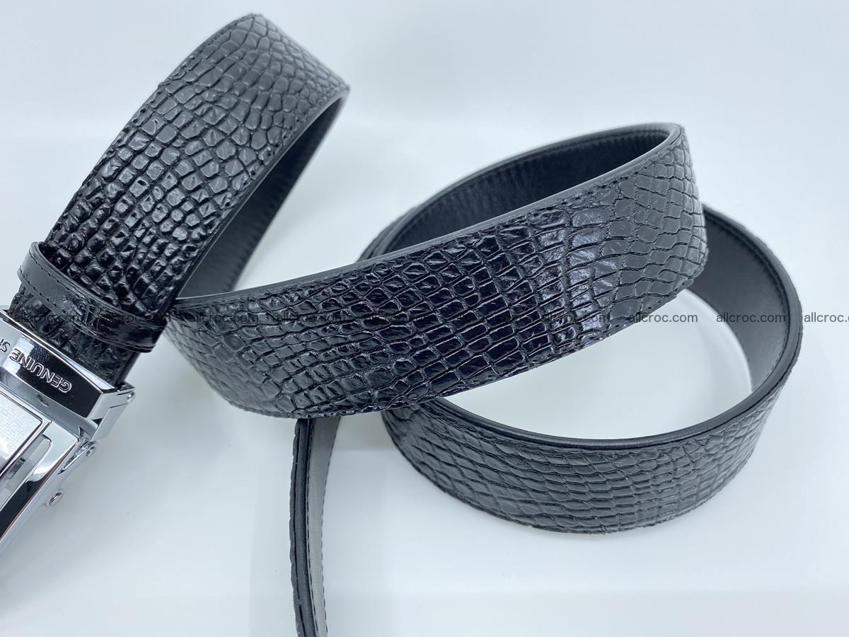 Crocodile leather belt 736 Foto 9