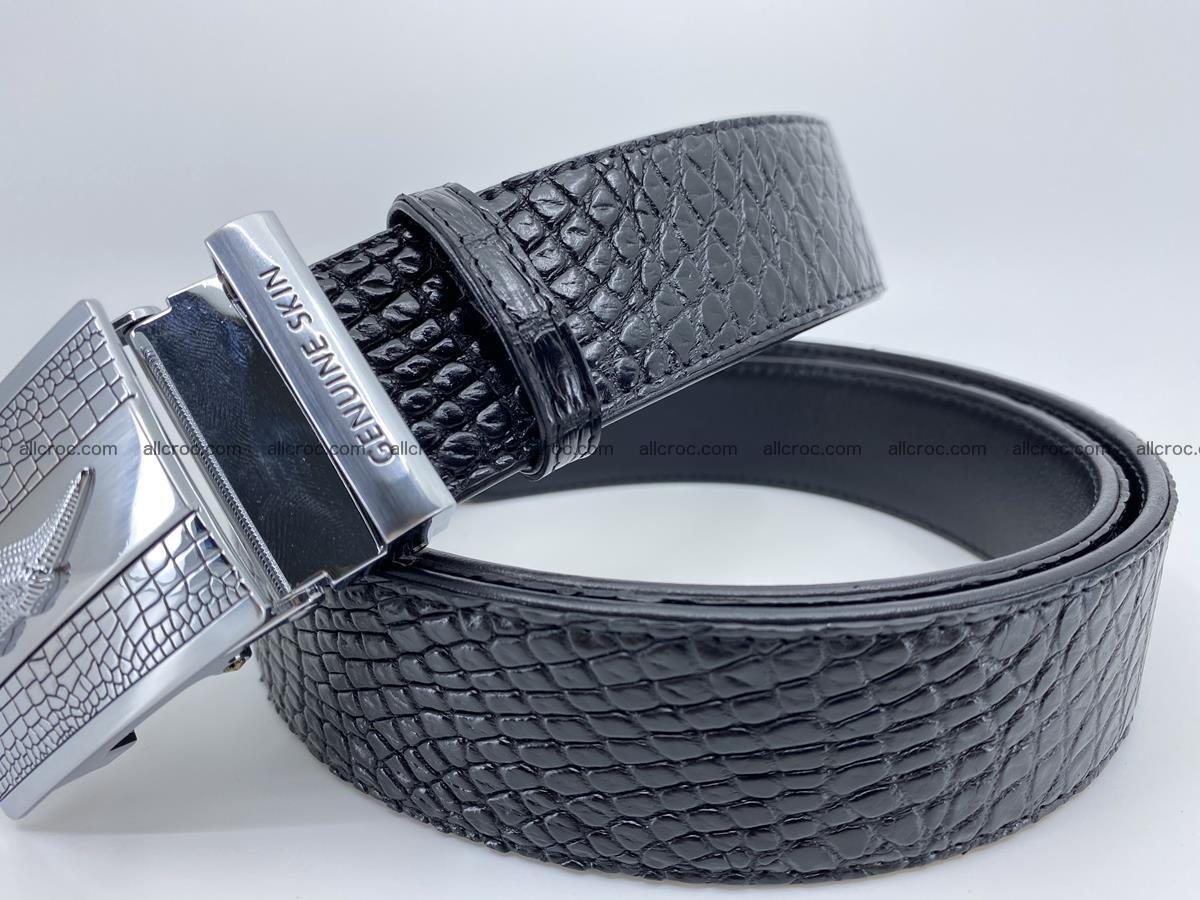 Crocodile leather belt 738 Foto 1
