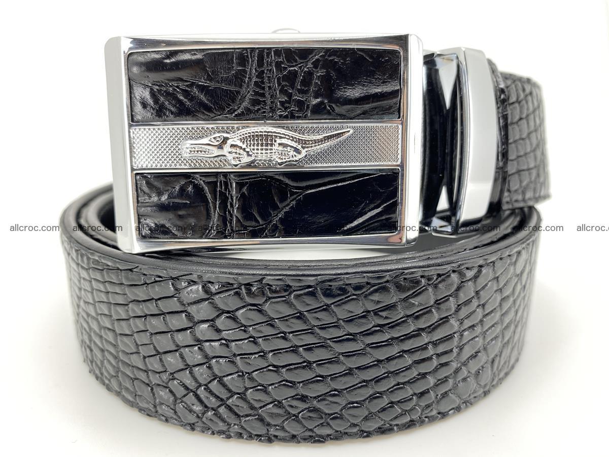 Crocodile leather belt 740 Foto 0
